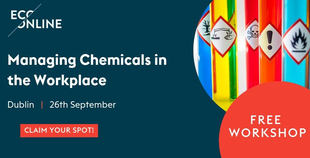 Free Workshop Managing Chemicals in the Workplace