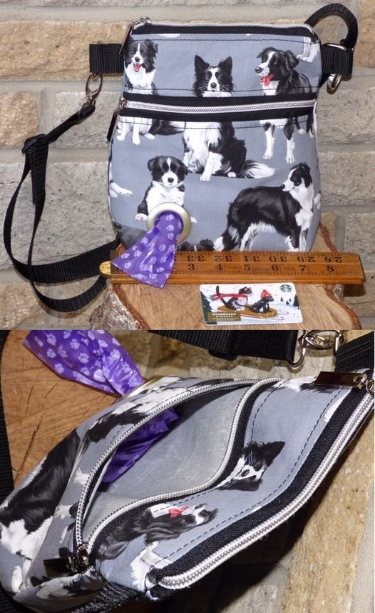 Make a Dog Walking Bag with or without a poo bag ring with Sylvia Turner of Sylvias Handmade Bags