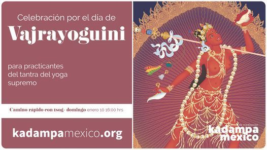 Día de Vajrayoguini, 10 January | Event in Mexico City | AllEvents.in