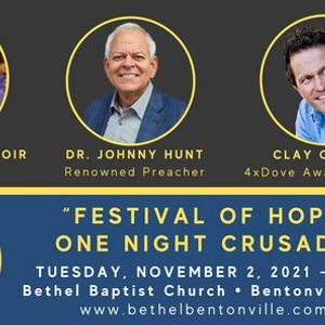 Festival of Hope with Dr. Johnny Hunt