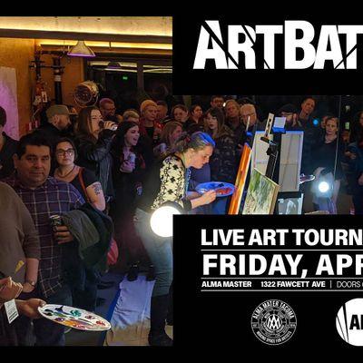 Art Battle Tacoma - April 10th 2020