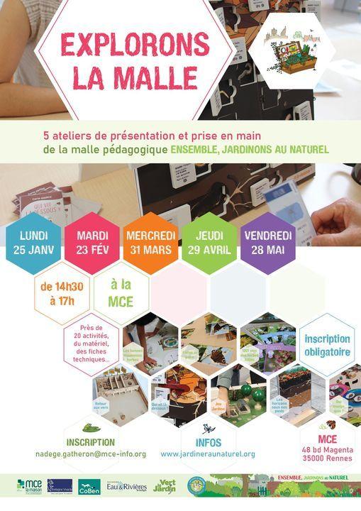 Explorons la malle : 4 ateliers de présentation et prise en main, 29 April   Event in Rennes   AllEvents.in