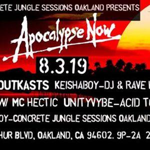 Concrete Jungle Oakland presents Apocalypse now