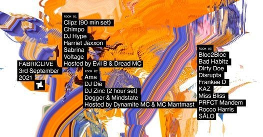 FABRICLIVE: Clipz, Voltage, Zinc, Breakage & More, 2 July | Event in London | AllEvents.in