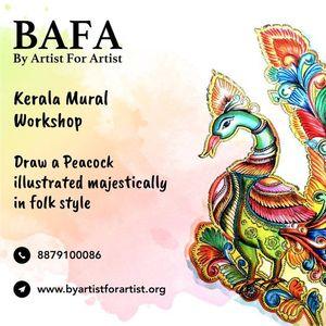 Kerala Mural Online Workshop with BAFA