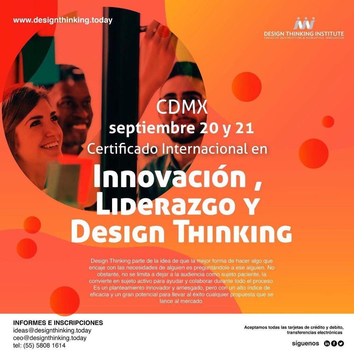 Certificado en Innovacin Liderazgo y Design Thinking