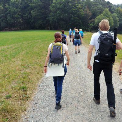 Singlewandern odenwald