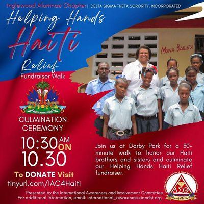 Helping Hands Haiti Relief Fundraiser Walk