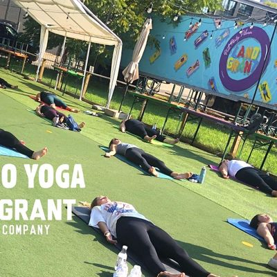 Modo Yoga At Land Grant Brewing