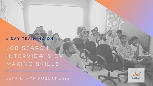 Training on Job Search Interview & CV Making Skills