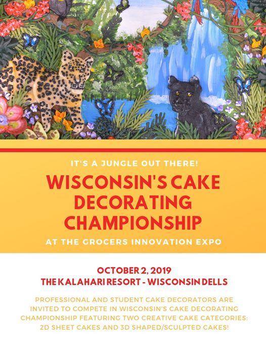 Wisconsins Cake Decorating Championship at Kalahari Resorts