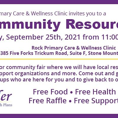 Free Community Resource Fair Sponsored by Sonder Health Plans