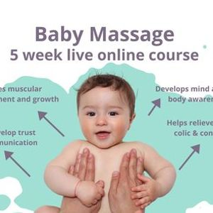 5 Week Online Baby Massage Course