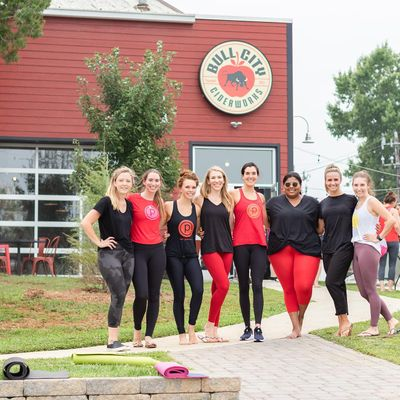 Free Pop Up Pure Barre Class at Oden Brewing