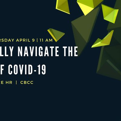Responding to COVID-19 - Emerging HR Best Practices