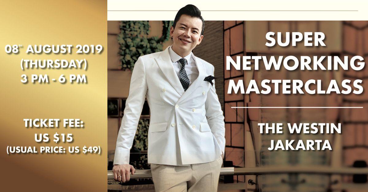 Super Networking Masterclass in Jakarta