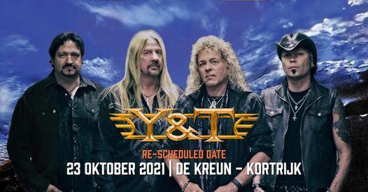 An evening with Y & T ✘ Wilde Westen, 23 October | Event in Kortrijk | AllEvents.in