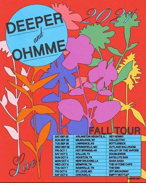 Ohmme and Deeper at Off Broadway, 8 October | Event in St. Louis | AllEvents.in