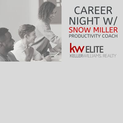 Career Night with Snow Miller