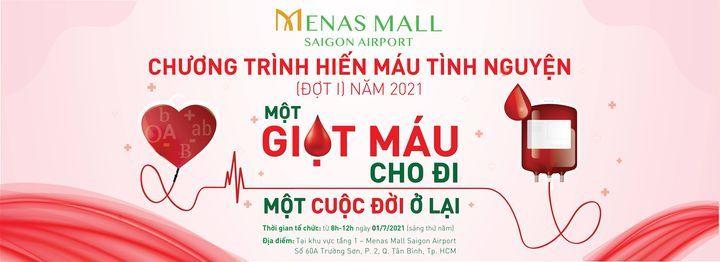 MỘT GIỌT MÁU CHO ĐI - MỘT CUỘC ĐỜI Ở LẠI, 31 July | Event in Ho Chi Minh City | AllEvents.in