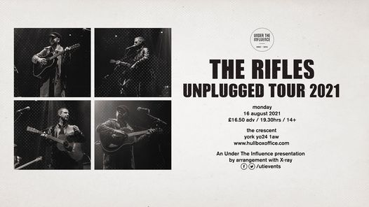 The Rifles (Unplugged) | Live in York, 8 July | Event in York | AllEvents.in