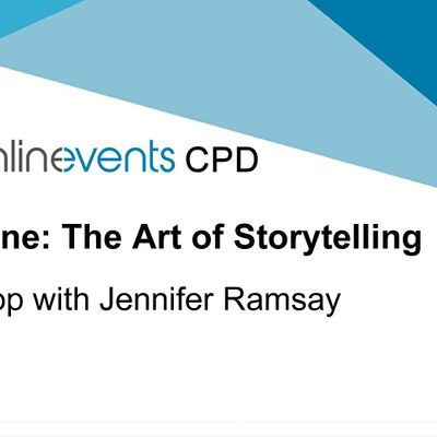 Story Medicine The Art of Storytelling workshop Part 1 - Jennifer Ramsay