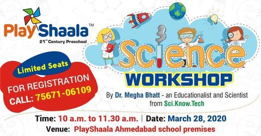 Science Workshop for Preschoolers and Parents