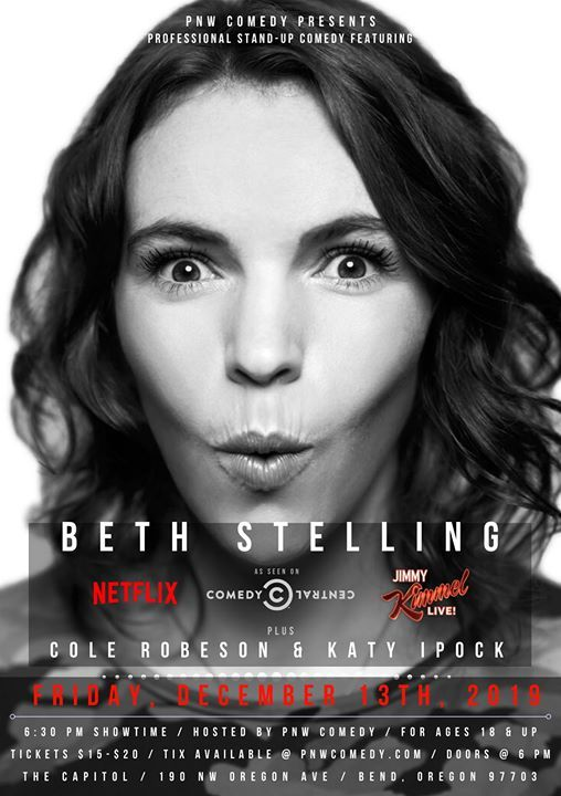 Beth Stelling Live In Bend Comedy Special Event
