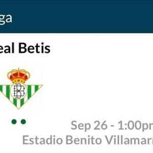Reals Betis v Real Madrid