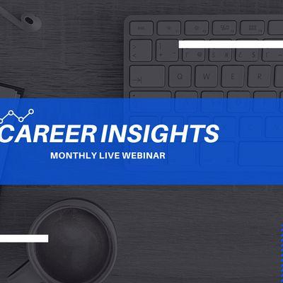 Career Insights Monthly Digital Workshop - Belfast