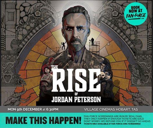 The Rise of Jordan Peterson - Village Cinemas Hobart TAS