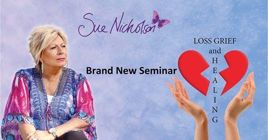 Loss Grief & Healing Seminar with Sue - Greymouth