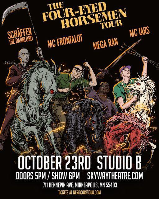 The Four-Eyed Horsemen - Studio B | Event in Minneapolis | AllEvents.in