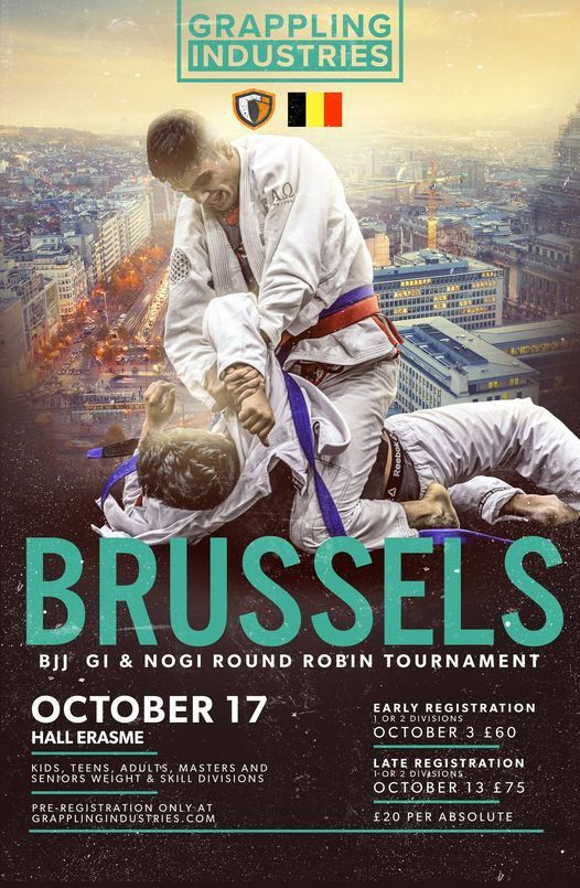 Grappling Industries Brussels, 17 October   Event in Anderlecht   AllEvents.in