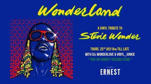 Wonderland - a Vinyl tribute to Stevie Wonder