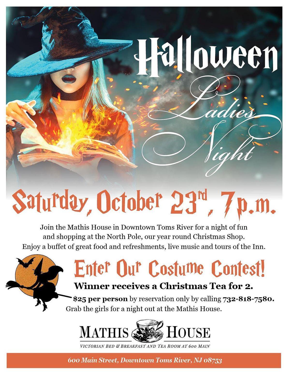 Ladies Night Halloween Costume Contest, 23 October | Event in Toms River | AllEvents.in
