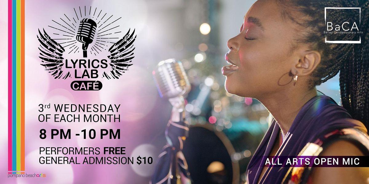 In-Person Lyrics Lab - All Arts Open Mic | Event in Pompano Beach | AllEvents.in