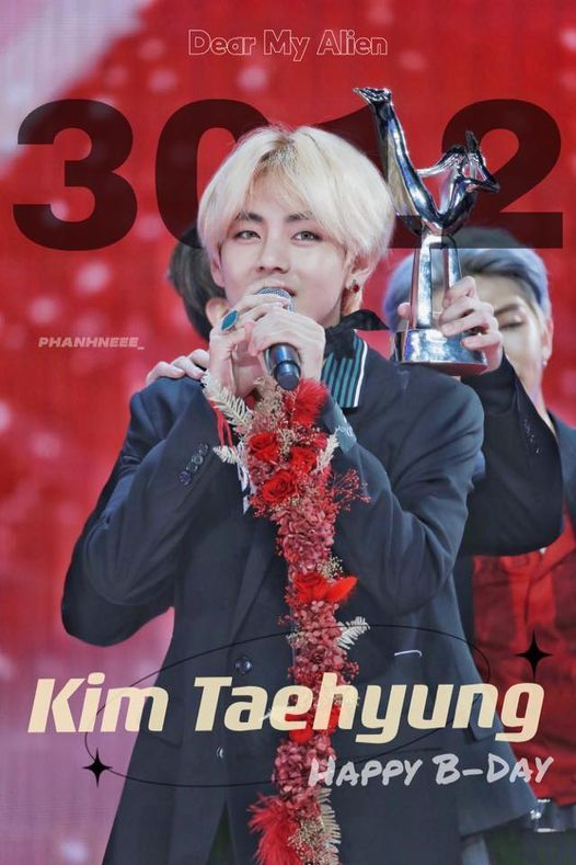 Dear My Alien - Happy Taehyung's day, 19 December   Event in Ho Chi Minh City   AllEvents.in