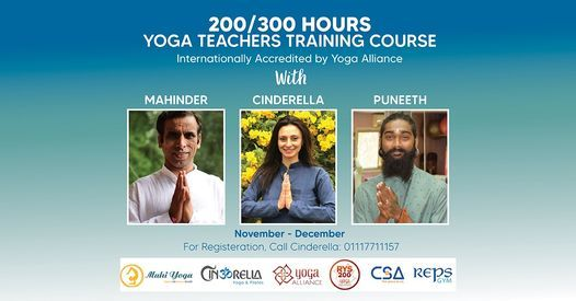 200-300 Teachers Training Course, 5 November | Event in Cairo | AllEvents.in