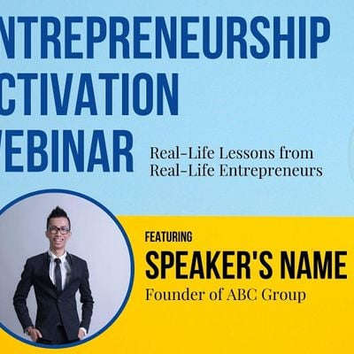 Entrepreneurship Activation Webinar feat. Chealers Chang Founder of ABC