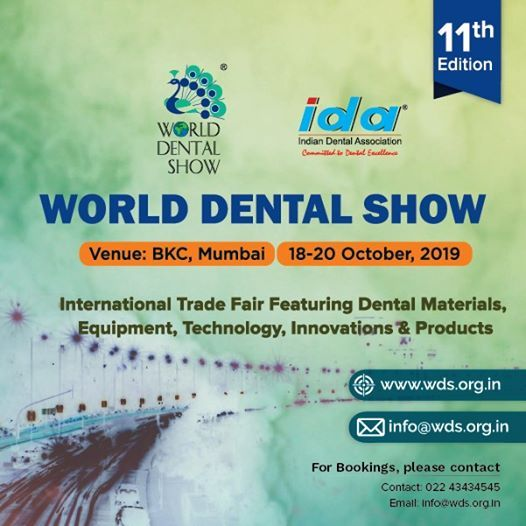 World Dental Show at BKC Bandra MMRDA Ground, Mumbai