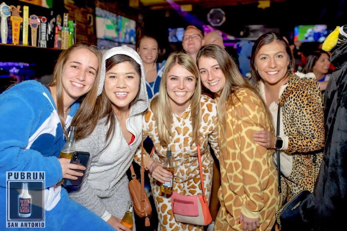 Corpus Christi Subaru >> First Friday Pub Run : Onesies at Moses Roses, San Antonio