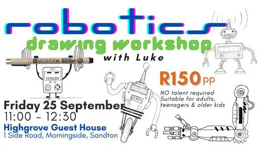 Robotics Drawing Workshop (Morningside)