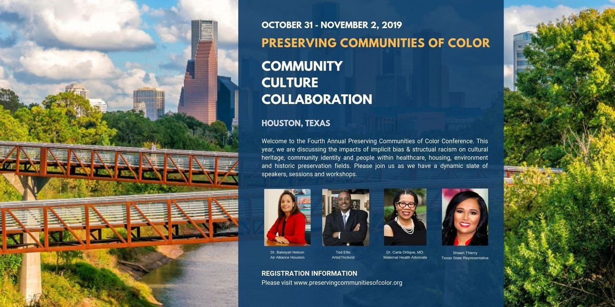 2019 Preserving Communities of Color Conference