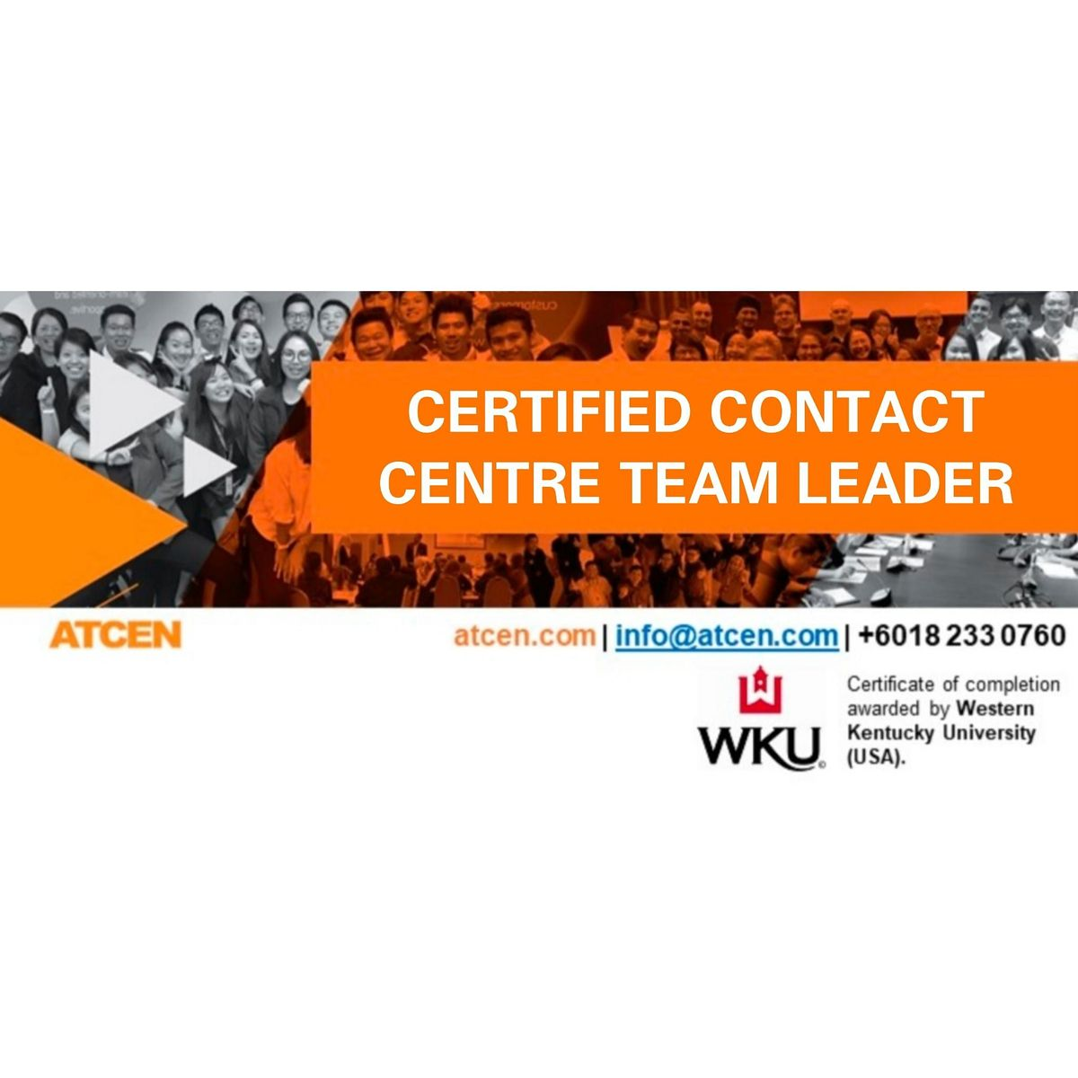 Certified Contact Center Team Leader, 2 December | Event in Petaling Jaya | AllEvents.in