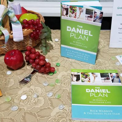 In Person AND Virtual The Daniel Plan - 40 Days to A Healthier Life Class