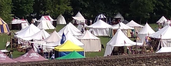 V Knives at the Colchester Medieval Festival
