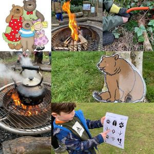 Forest School - Goldilocks and her 3 friends