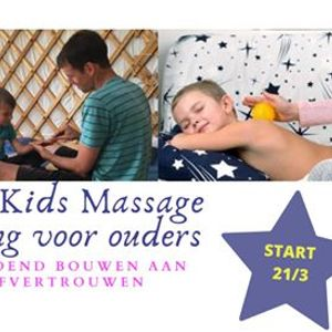 Online Happy Kids Massage training voor ouders