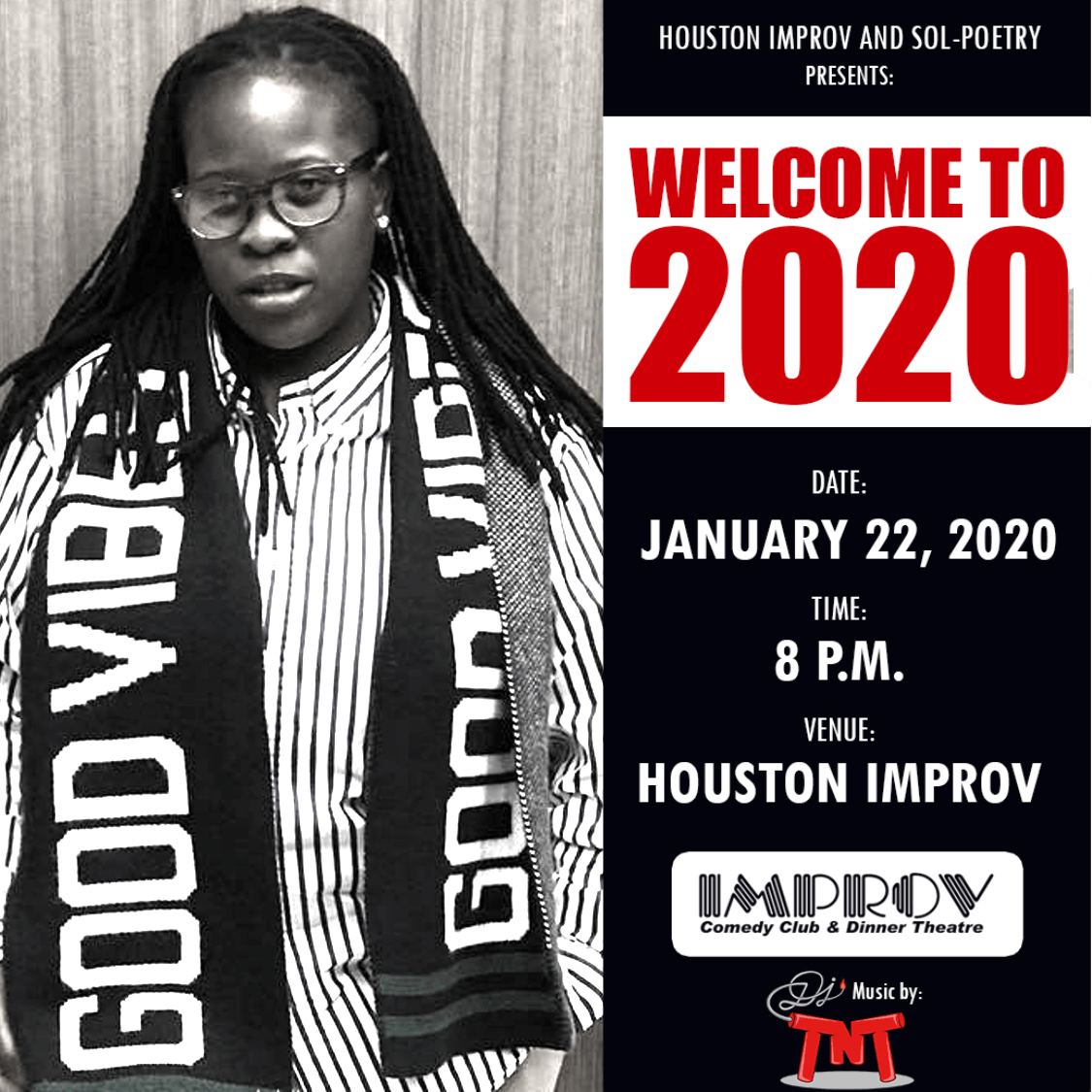Sol-Poetry Welcome to 2020 Poetry Event (Ebony Rose)